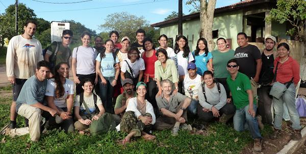 """Oficina """"O Estudo da Biodiversidade em Parcelas Permanentes"""" que aconteceu em Santarémcontou como parte do Projeto Cenários"""
